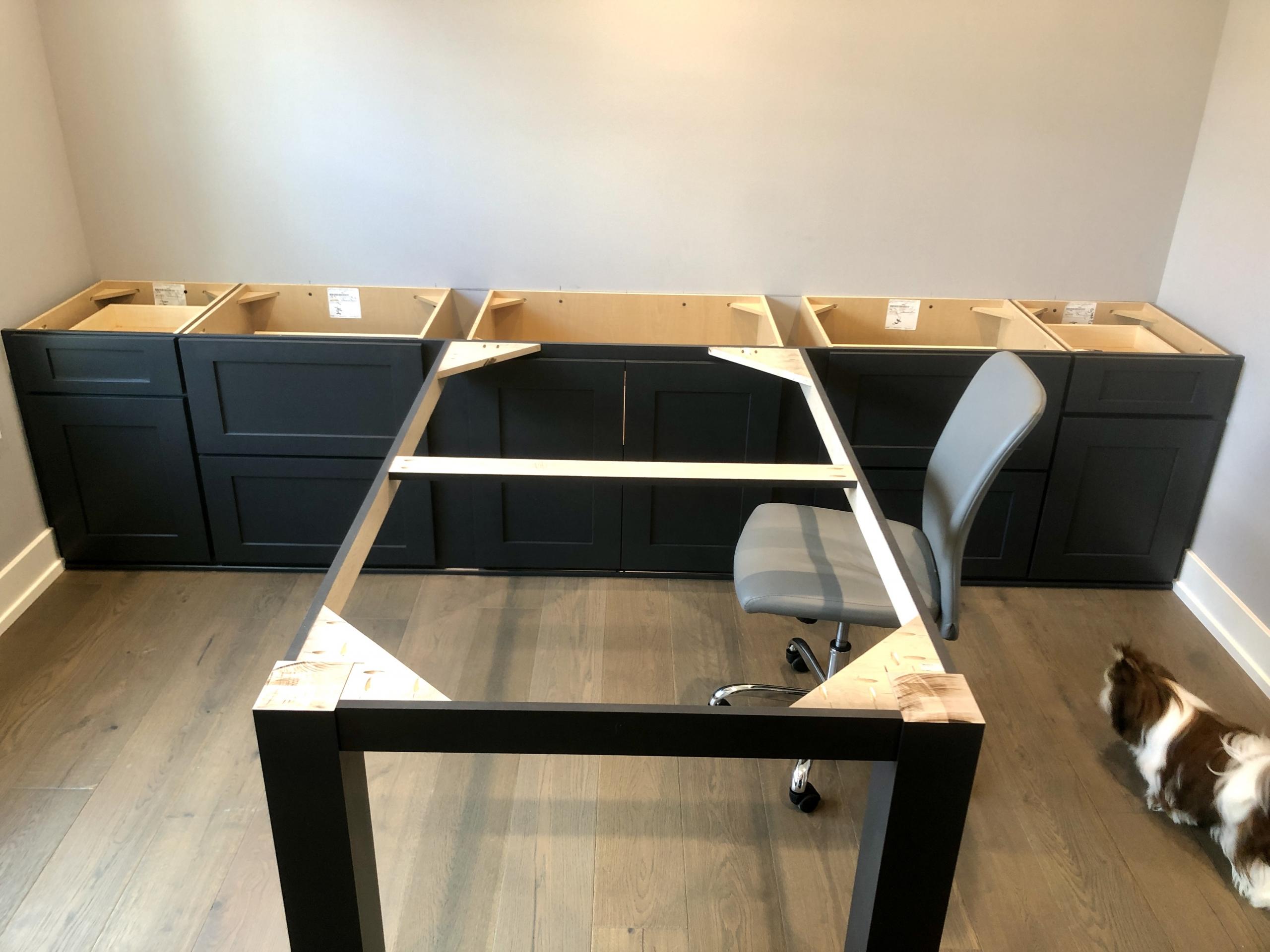 New Desk Frame