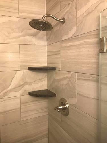 Remodeled Shower