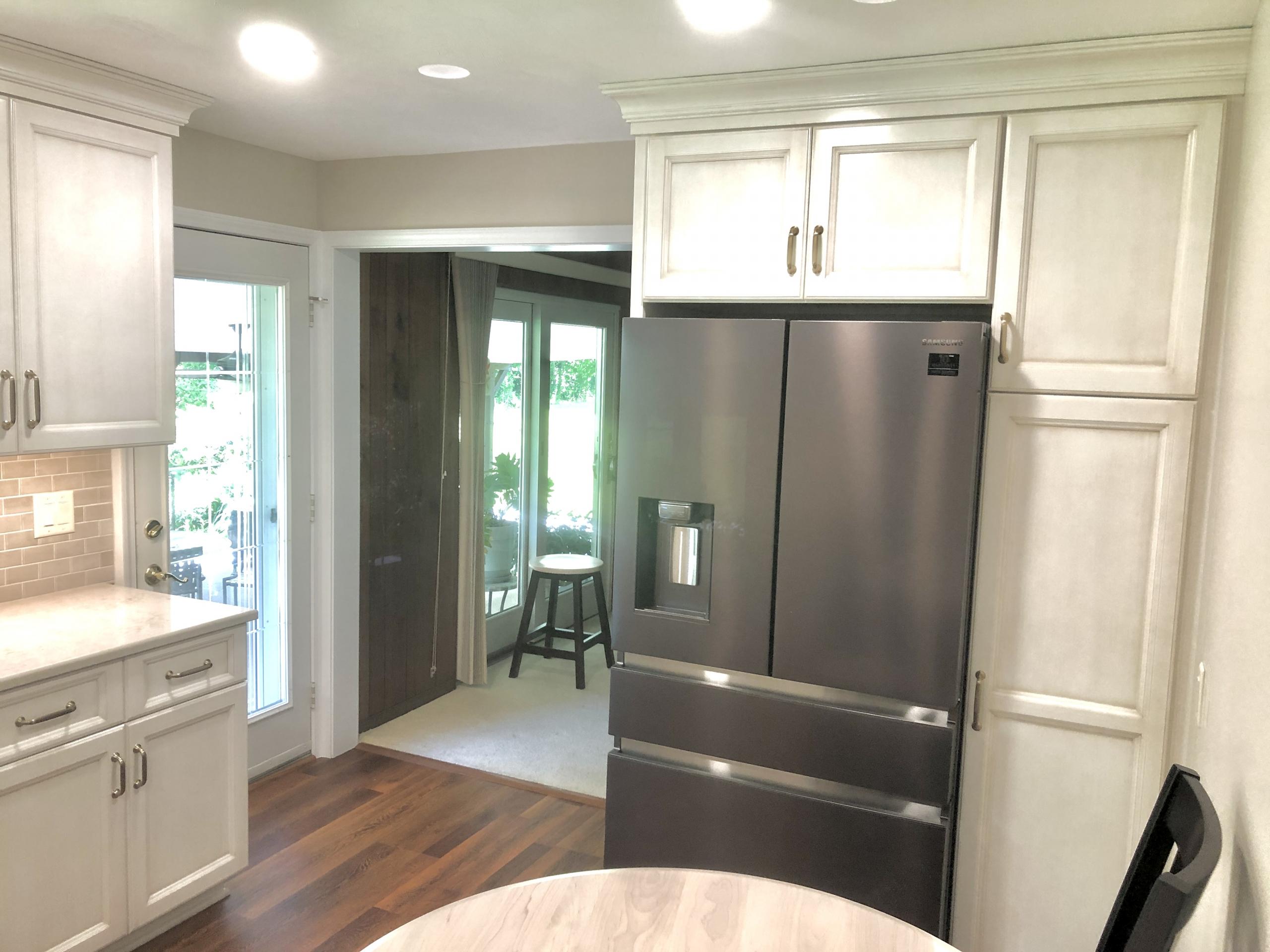 Remodeled Kitchen Refrigerator